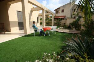 דשא קבוע דשא סינטטי