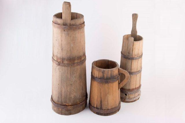 כלי עץ עתיקים