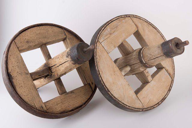 גלגל עץ עתיק