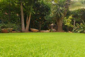 דשא סינטטי עם התקנה