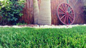 עיצוב גינה דשא סינטטי