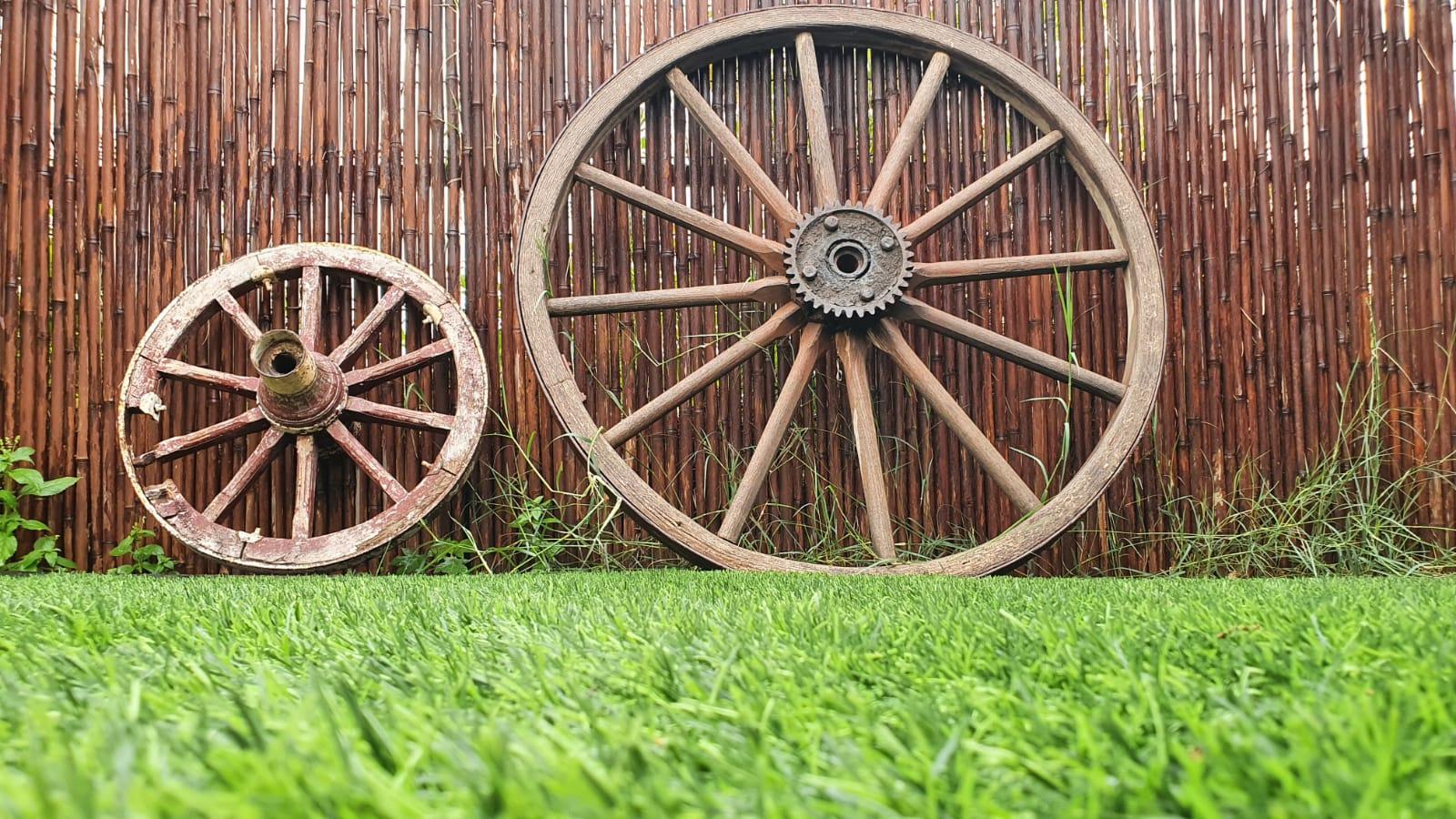 גלגלים של כרכרות