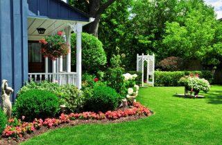 עיצוב גינות עם דשא סינטטי