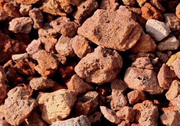 Red Tuff Stones