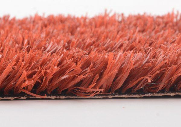 דשא סינטטי אדום