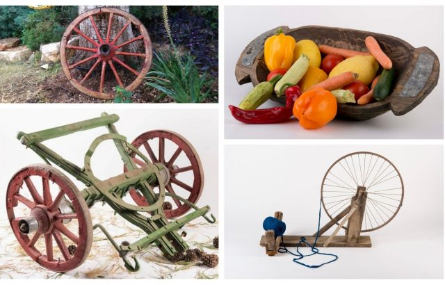 Vintage Items for Gardens