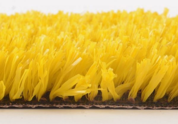 דשא סינטטי צהוב